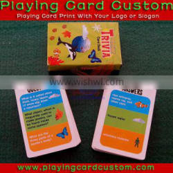 SD Industry pro service&quality printed customized game cards