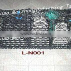 galvanized and dipped lobster trap