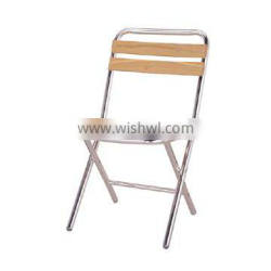 Aluminum frame foldable leisure chair outdoor furniture