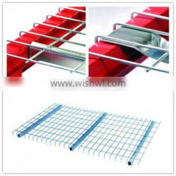 Warehouse shelving finish steel mesh shelf wire deck for pallet racking