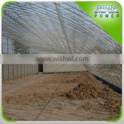 agricultural solar greenhouse galvanized structure