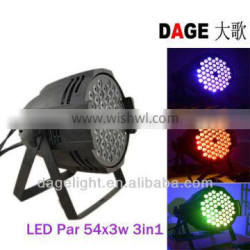 led stage light 54X3W 3in1 from guangzhou baiyun chinese imports wholesale