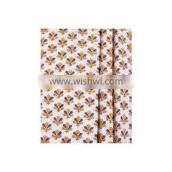 Floral Hand Block Printed Fabric