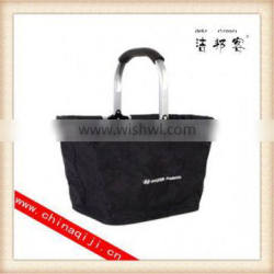 High quality roller shopping basket wholesale