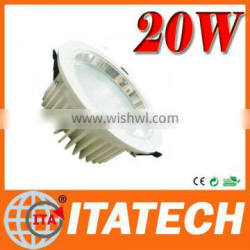 factory price! recess down light+ 3years warranty