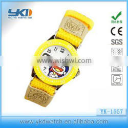 cheap childrens alloy case nylon watch manufactures in china