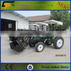 Chinese Small Tractor Between 30-40hp 4WD tractor price list