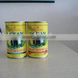 canned mackerel fish in tomato sauce 155g