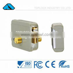 Elettrika - Electric Rim Lock for Gate Door with Fixed Cylinder