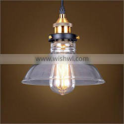 E26 Vintage Glass Droplight for Kitchen