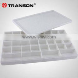 Transon 36-well plastic palette box with cover for watercolor ,acrylic paint