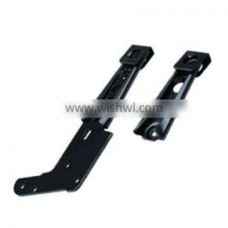 Recliner motion mechanism parts - KD bracket with lock clip