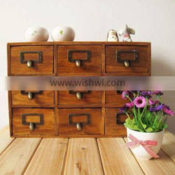 Wooden key box with drawers, Antique multiple drawer box, Decorative key boxes, jewelry box manufacturers china