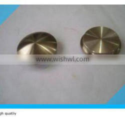 solid stainless steel pipe end cap