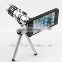 12X telescopic mobile phone with universal holder for sumsung galaxy iphone smartphone lens