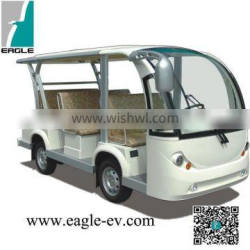 electric eight seats shuttle bus , CE approved,USA LSV