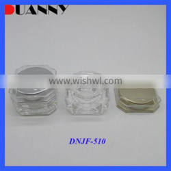 New Square Loose Powder Empty Jar Cosmetic Packaging