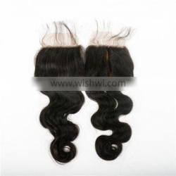 100 percent raw indian virgin hair wet and wavy closure virgin indian hair closure virgin hair silk base free part closure