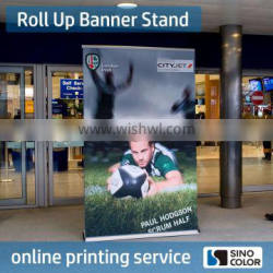 High Quality Flexbile Wind resistance advertising roll up banner