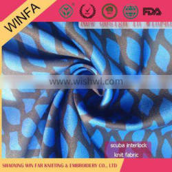 Best selling Fabric Manufacturer Soft Customized 90 polyester 10 spandex fabric