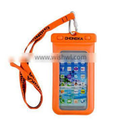 High Quality Sealed Mobile Phone Blue PVC Waterproof Bag for Cell Phone