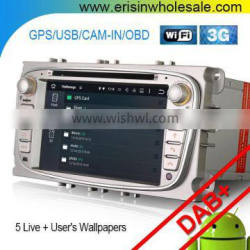 Erisin ES3009F 2 Din 7 inch Touch Screen Car DVD Player for Mondeo