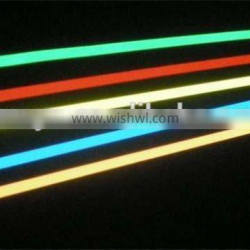 40mm width red green blue and yellow EL tape with high quality