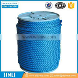 Manufacturing selling Blue braided nylon rope for sale
