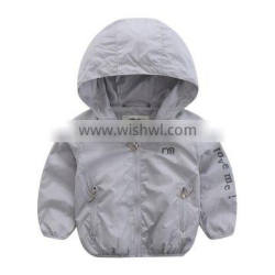 Wholesale high quality with hood jacket kids clothes children