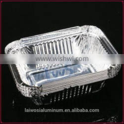 disposable small take away aluminum foil container