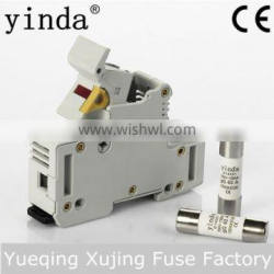 Cylindrical Protection contact fuse link and fuse holder