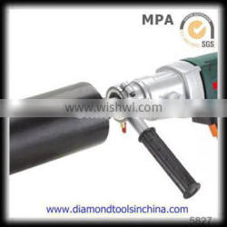Stone Coring Brazed Segmented Dry Diamond Stone Drill Bit with Side Protection