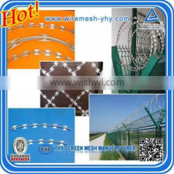BTO-12 Electric Galvanized Razor Wire