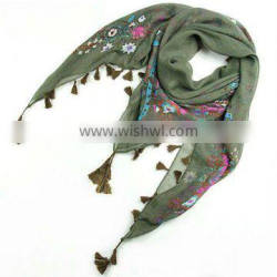 square voile scarves