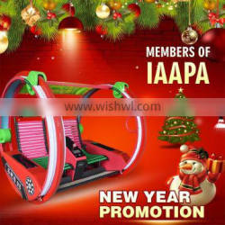 2016 new year hot sale remote control happy car 2 seats happy cars