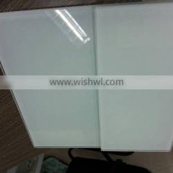 3-19 mm low iron painted white glass