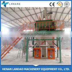 Simple dry mortar production line 2-3T/H Putty Dry Mortar Production Machine