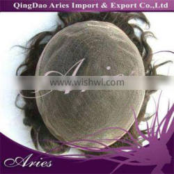 Natural Curl Swiss Lace Toupee Indian Natural Hair