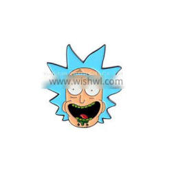 Rick And Morty Enamel Pin Maker