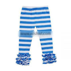 High quality pants for girls trousers pants designs wholesale icing pants ruffle pants for girls