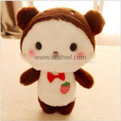 Custom corporate mascots for plush toys to process and produce doll pillows