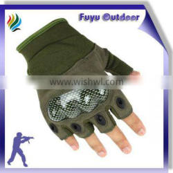 newest High-end CHINA Half Finger Tactical Protective Camouflage color Shooting Gloves For Men