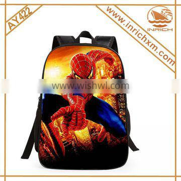 2016 Back To School Season School Supplier Alibaba China Wholesale School Backpack Spider Man Images Of School Bag