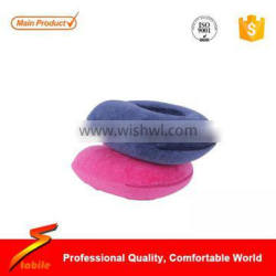 STABILE Memory Foam U-Shape Neck Pillow, Dark Blue & Grey , Great for travel or use for neck support anywhere you like