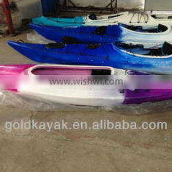 hot selling LLDPE one person sit in kayak wholesale