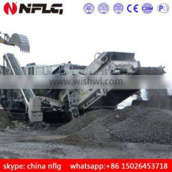 made in 2011 low price used mobile impact crusher
