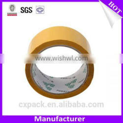 Yellow Non-Transparent Durable Adhesive Packing Tape On Sale