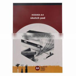 A4 Size 25 Sheets Tape Bound Coloured Cover 150gsm Sketch pad