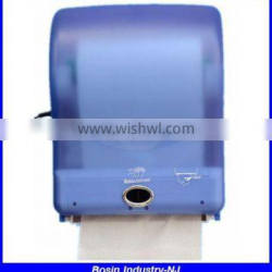 touchless hotel plastic wall mount electric toilet paper dispenser