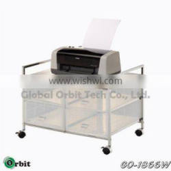 Home furniture rolling plastic storage trolley, mobile P.P drawer cart